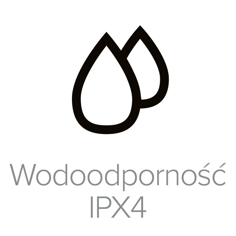Water Resistant IPX4_PL