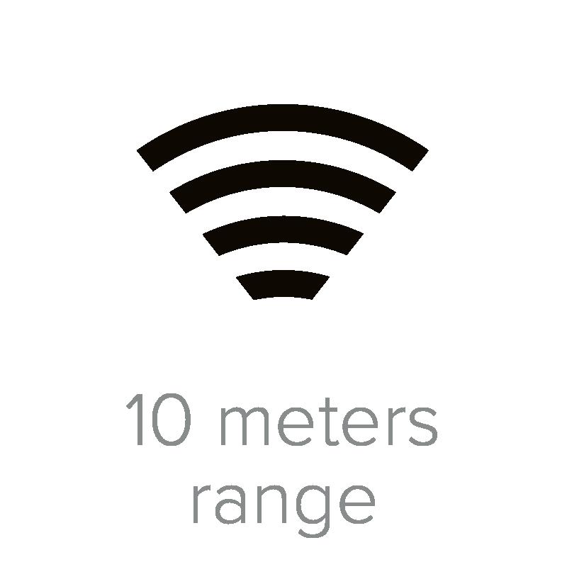 10 meters range