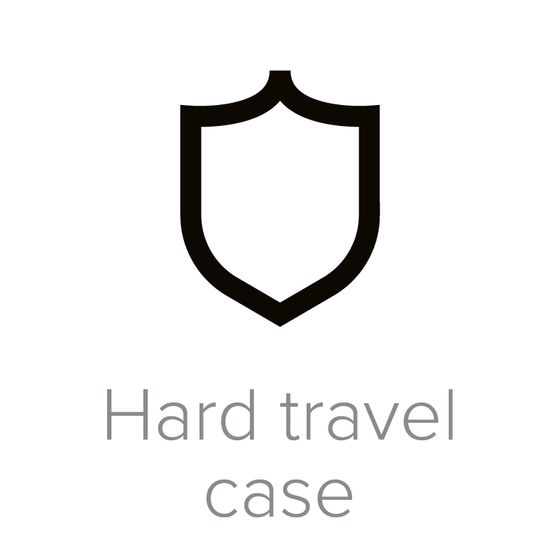 Hard travel case