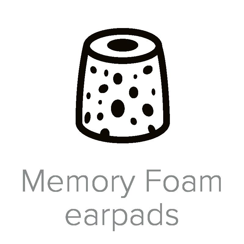 Memory Foam earpads