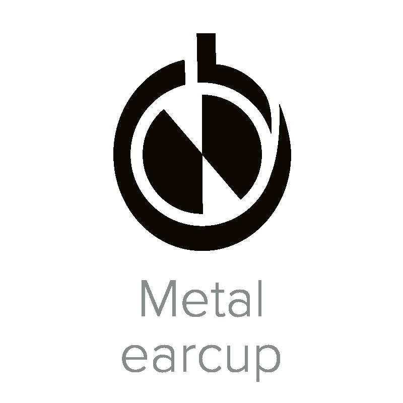 Metal earcup-2