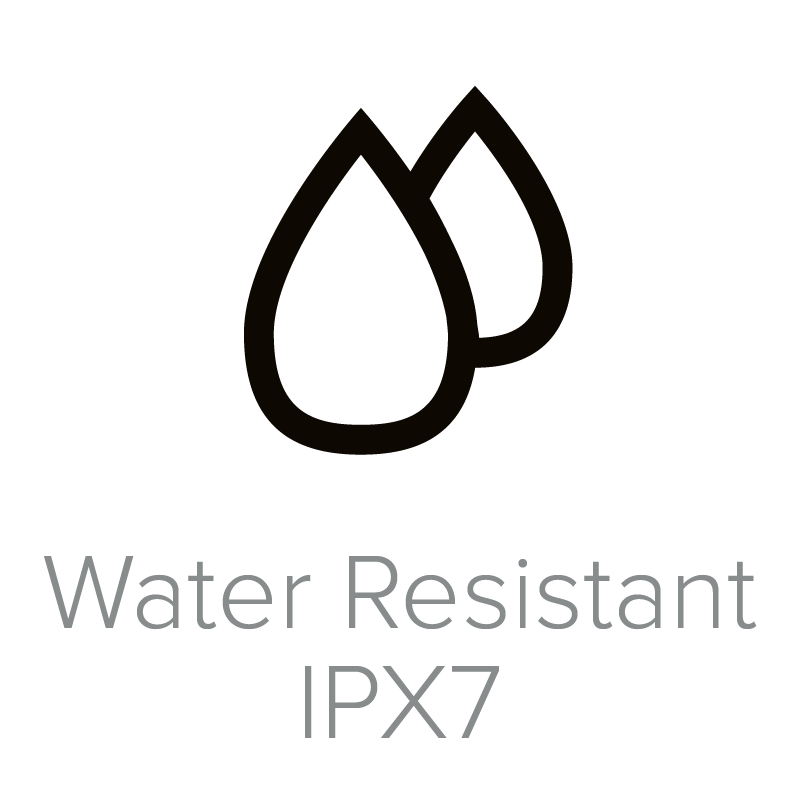 Water Resistant IPX7