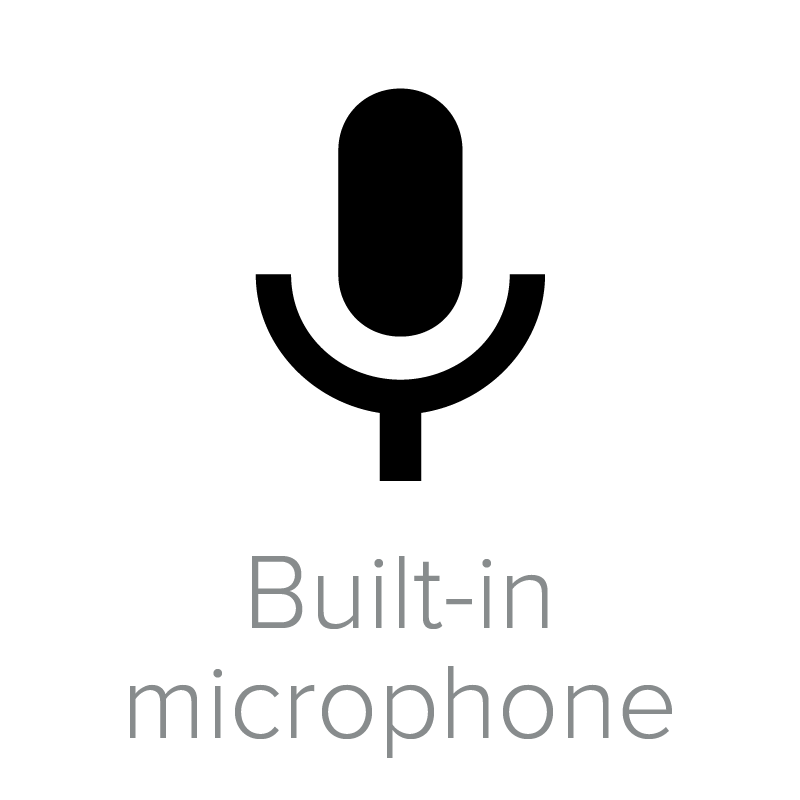 Built-in-microphone