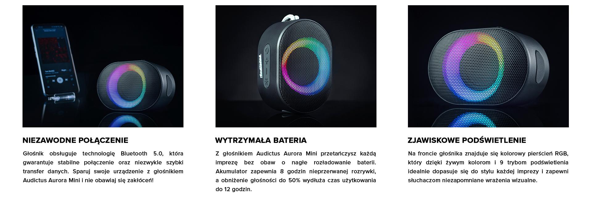 Podpunkty - Audictus Aurora Mini
